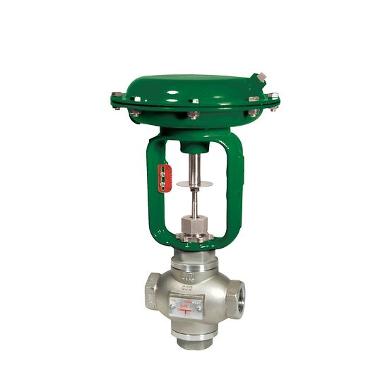 Baumann 24003 Three-Way Globe Valve