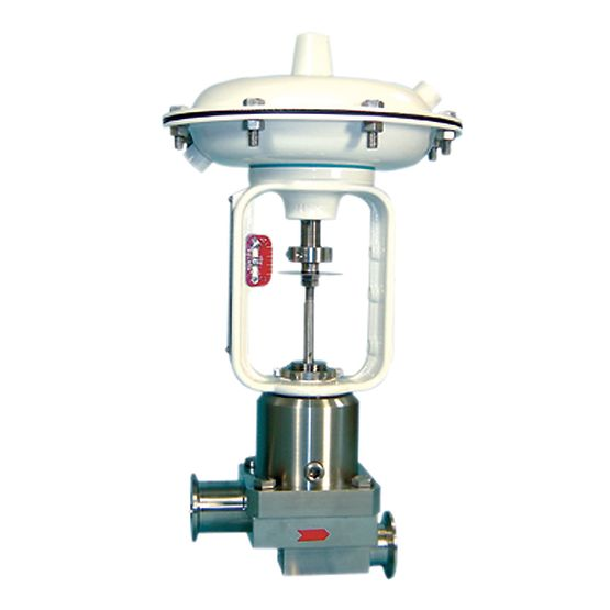 Baumann 84000 Sanitary Control Valve