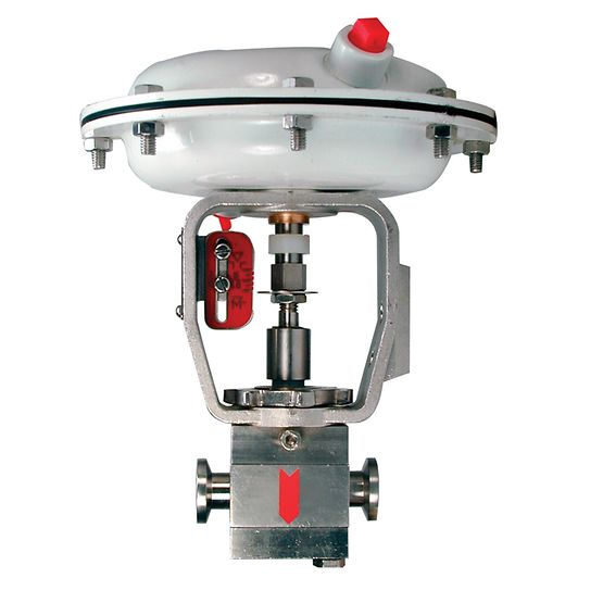 Baumann 87000 Flexsleev Sanitary Control Valve