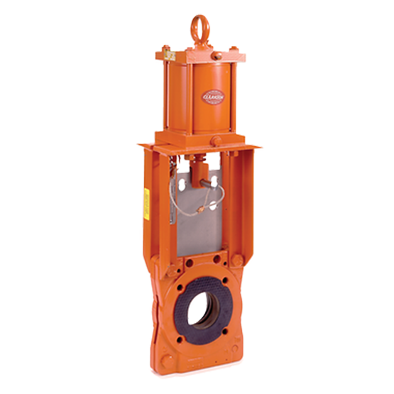 Clarkson Model KLB Knife Gate Valve