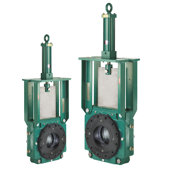 Clarkson Model KGF/KGF­HP Knife Gate Valve