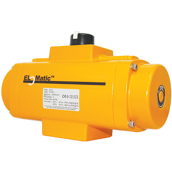 El-O-Matic F-series Rack and Pinion Pneumatic Valve Actuator