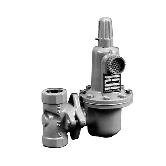 Fisher Types 627W & WH Series pressure reducing regulators