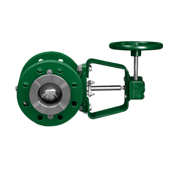 Fisher 1077 Manual handwheel actuator