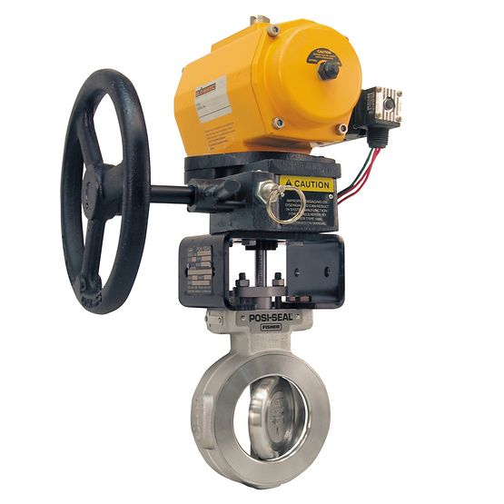 Fisher 1080 Declutchable manual actuator