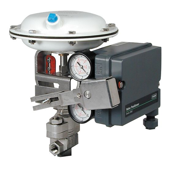 Fisher 3661 Electro-Pneumatic Positioner
