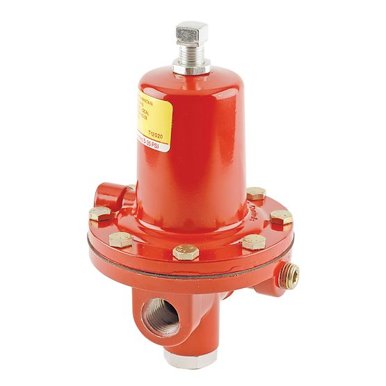 Fisher 64 Series High-Pressure Regulators