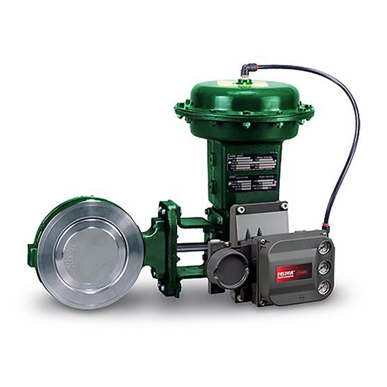 Fisher 8560 High Performance butterfly valve