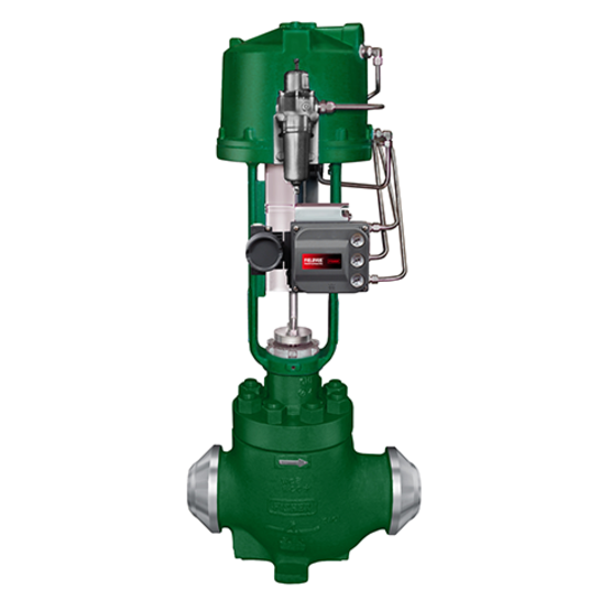 Fisher EH Series Control Valves
