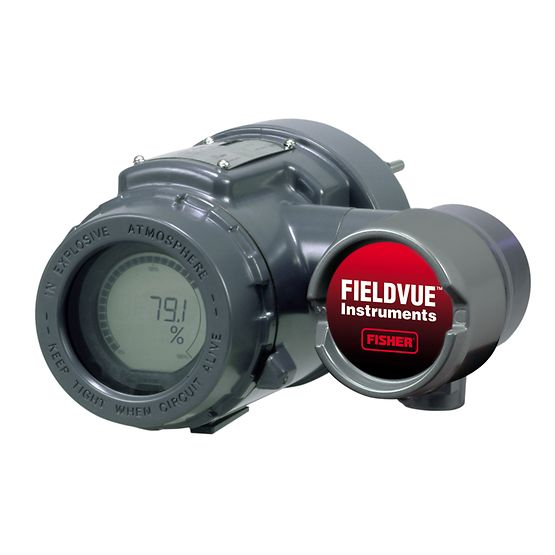 FIELDVUE DLC3010 Digital Level Controller