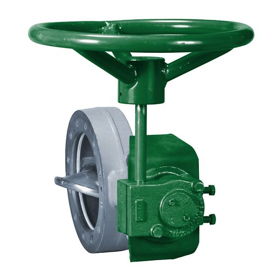 Fisher M Series handwheel gear actuator