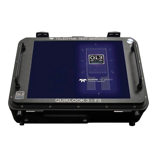 Fisher QUIKLOOK 3-FS Valve Diagnostic System with FlowScanner Software