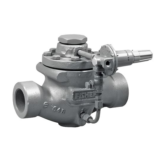 Fisher Type 63EG Backpressure Regulator