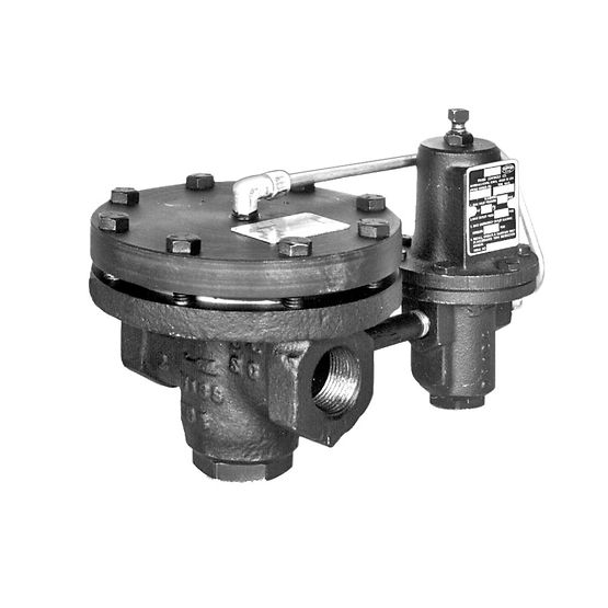 Fisher Type 92C Self-Powered Control Valve