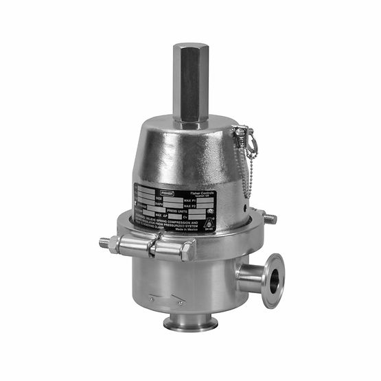 Fisher Type SR5 Sanitary Pressure Regulator