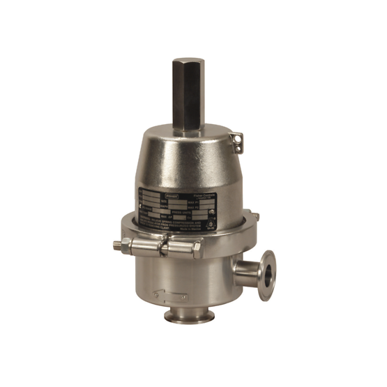 Fisher SR8 Sanitary Backpressure Regulator