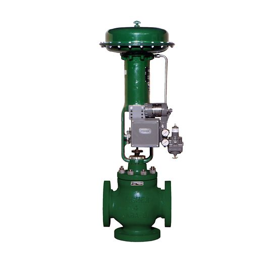 Fisher YD & YS Three-Way Cage-Guided Valves
