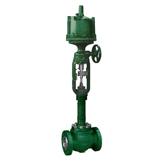 Fisher easy-e Cryogenic Control Valve