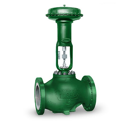 Fisher easy-e EW Control Valve