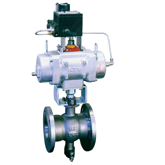 KTM Dual­V Hi­Performance Control Ball Valves