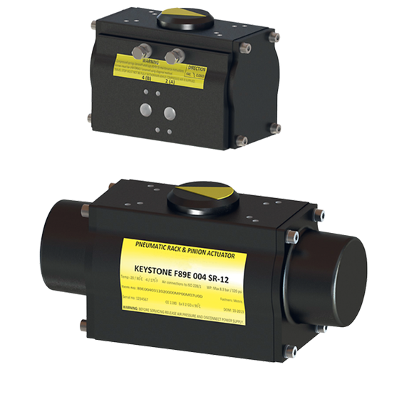 Keystone F89 Pneumatic Quarter-turn Actuator
