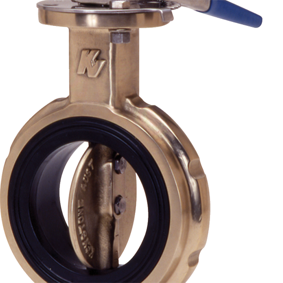 Keystone 139 butterfly marine valve