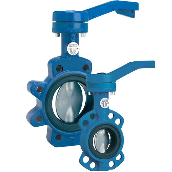 Keystone 320/322 resilient seated Butterfly valve
