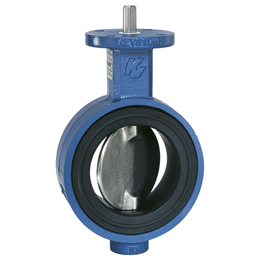 Keystone Figure 9 Resilient seated butterfly valve