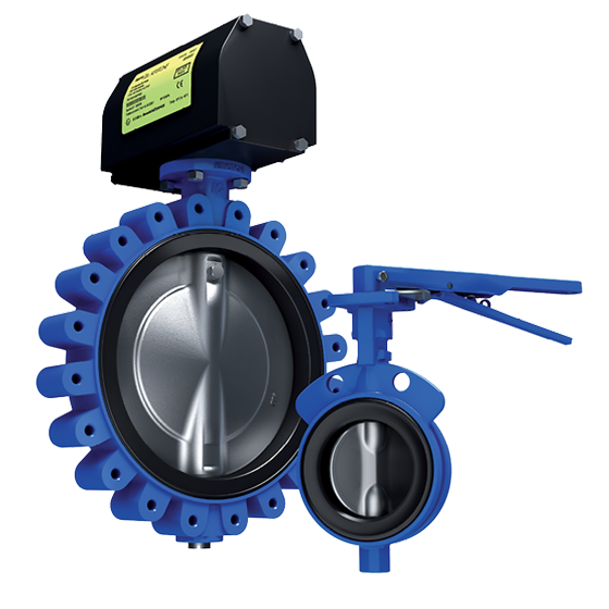 Keystone Series GRW/GRL Butterfly Valves