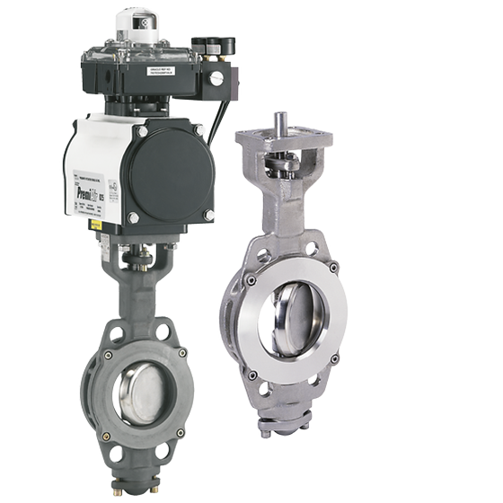 Keystone Series HiLok High Performance Butterfly Valves