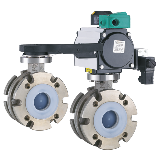 Neotecha Model SNB/SNC PFA Lined Ball Valves