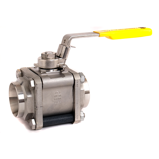 KTM Mecafrance 3-piece ball valves & series RA