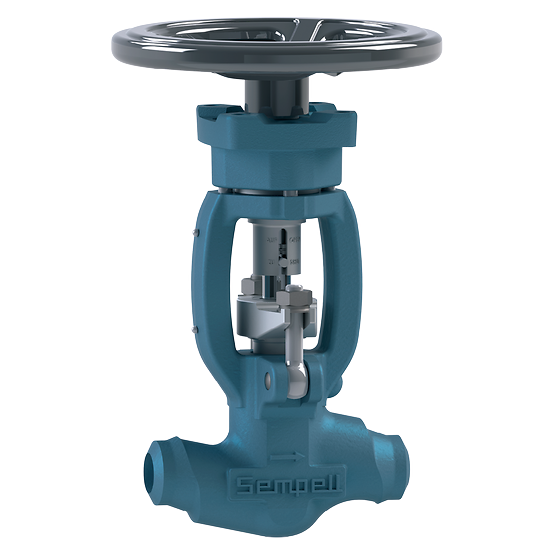 Sempell Model VA500 DIN High Pressure Globe Valves