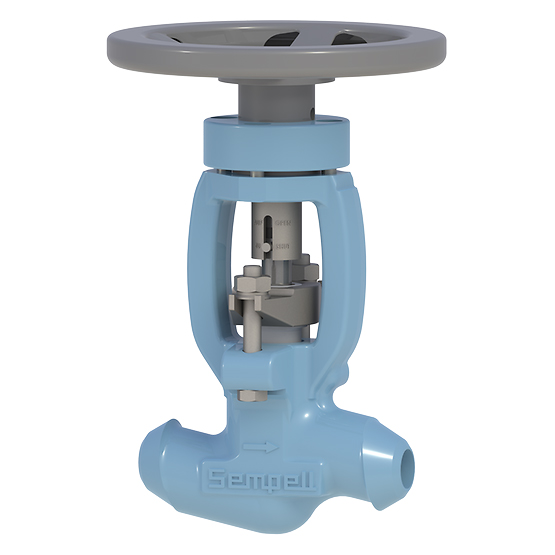 Sempell Model VA505 High Pressure Isolation Valve