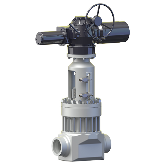 Sempell GPS5 Blow-down isolation gate valve
