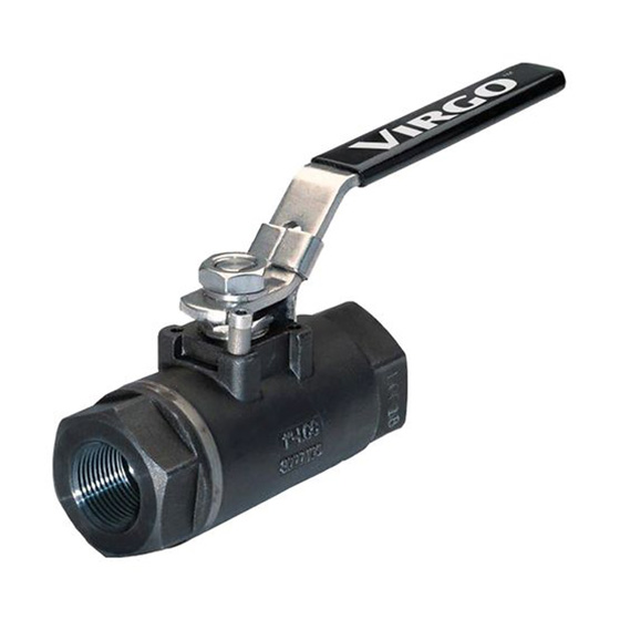 Virgo CCB Series Seal Welded Threaded Ball Valve