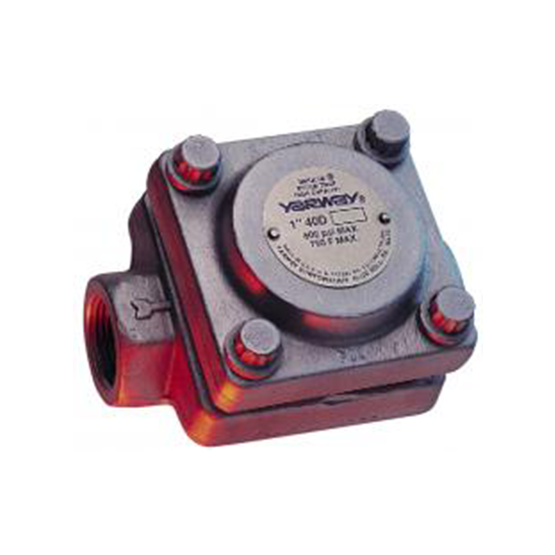 Yarway Series 40 & 40D Process Thermodynamic Steam Traps