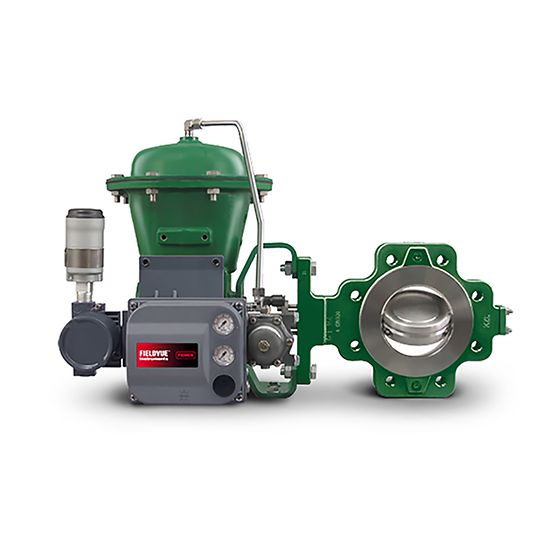 Fisher Control-Disk Rotary Valve