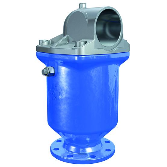 VAG DUOJET-P Automatisk avluftningsventil med hög kapacitet till vatten