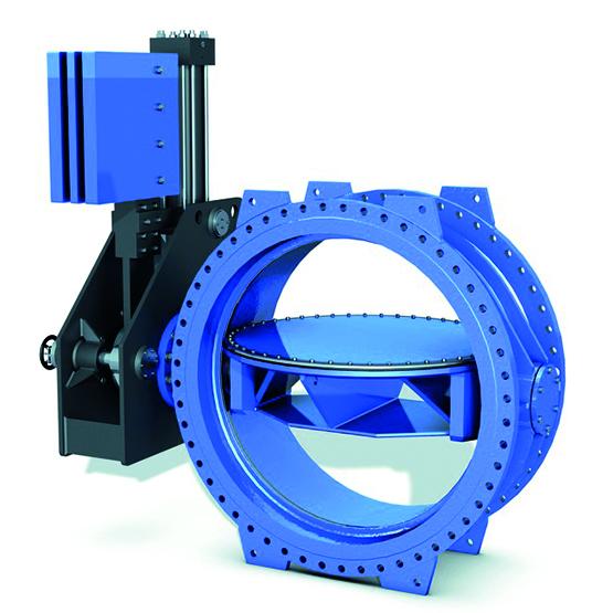 VAG EKN Hydropower Turbine inlet valve - water