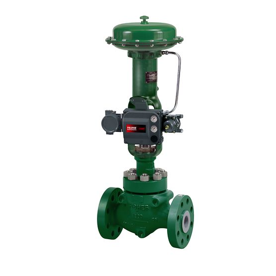 Fisher HP & EH Globe and Angle Valves