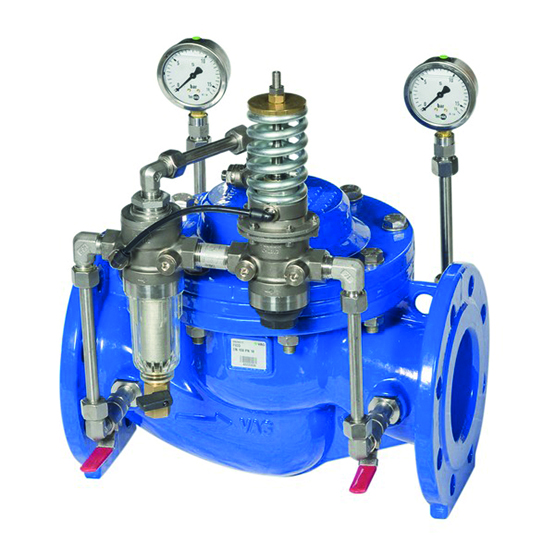 VAG PICO H Pilot Operated Pressure sustaining valve - water